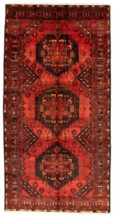 Turkish Ottoman-Vintage x Hand-knotted Wool Red Rug Caucasus Mountains, Red Rooms, Red Accents, Weaving Techniques, Rugs In Living Room, Rug Making, Accent Colors, 5 S, Bohemian Rug