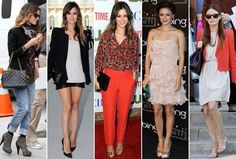 Rachel Bilson. Love all of these outfits!