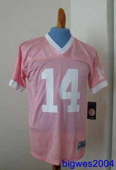 Penn State  #14 Football Jersey Womens PINK Size XL(14)Screened - NWT