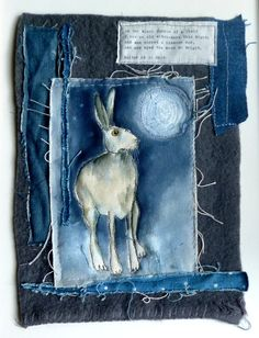 Wow this is stunning!! Moon gazing hare... Loopy