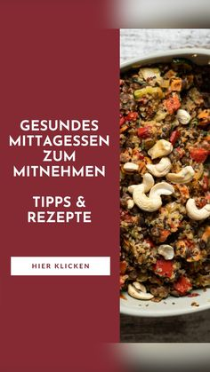 Rice Recipes Vegan, Vegan Food, Vegetarian Recipes, Healthy Food, Healthy Recipes, On The Go Snacks, Low Calorie Recipes, Fitness Workouts, Quick Meals