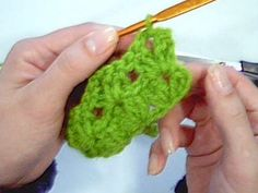 Como iniciar a carreira em ponto V - Noções Básicas - Aprendendo Croche