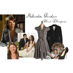 I love the grey dress!