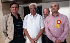 With Dr Narender Nath (Former Delhi Education Minister) and Dr RK Tuli- Global Pioneer in Holistic Medicine