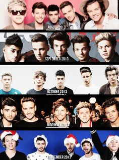 One Direction (August-December 2013)