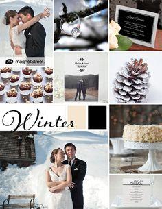 Winter Wedding Inspiration | Winter Wedding Ideas