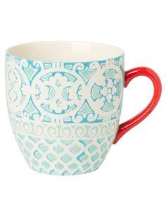 HABIBI XL mugg turkos | Mugs/cups | null | Glas & Porslin | Inredning | INDISKA Shop Online