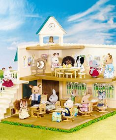 Look what I found on #zulily! Berry Grove School Set by Calico Critter #zulilyfinds