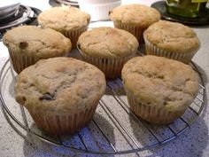 Gluten Free Banana Chocolate Chip Muffins recipe - Foodista.com - delicious i added flax seed too
