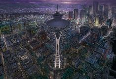 space_needle_by_jOuey_