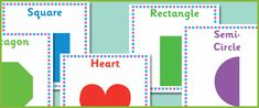 2D shapes -teaching resources