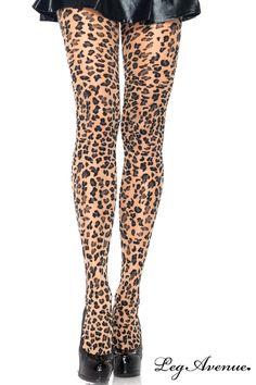 Collant de couleur chair avec un superbe imprimé léopard. Le rendu est magnifique, les jambes sont sublimées. Maintien à la taille élastique.