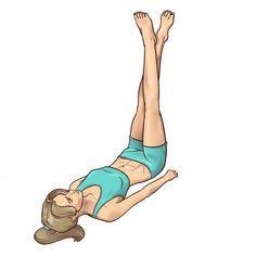 Bacaklarınızı İnceltmek İçin Uykudan Önce 3 Dakika Bu Egzersizleri Yapın