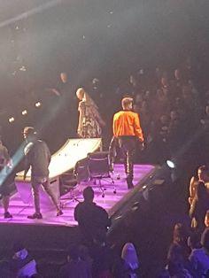 Adam Lambert (w/Iggy Azalia and Guy Sebastian) at day one of X-Factor Australia auditions Here Lyrics, Guy Sebastian, Adam Lambert, Bring It On, Australia, Angel, Guys, Sons, Boys