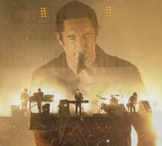 Trent Reznor, Nine Inch Nails. Can't wait to see them again in August! :)