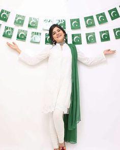 Asian Pakistani Independence day women kurtas Pakistan independence day theme