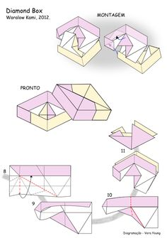 "Diagrama da ""Diamond Box"" - Waralow Kami pg 2"