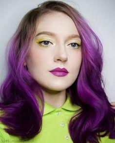 @lana_makeup_nails looking pretty in our Plum Purple #lunartides #plumhair #purplehair Plum Purple Hair, Makeup Tips, Hair Makeup, Gorgeous Hair Color, Hair Sticks, Pretty Hairstyles, How To Look Pretty, Dyed Hair, Hair Cuts
