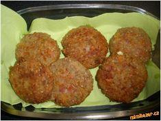 Pohankové karbanátky Vegetarian, Ethnic Recipes