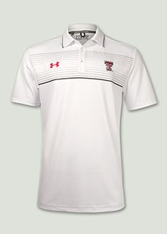Under Armour® 2014 Media Day White Polo. Red Raider Outfitter Texas Tech 91e97a87576f