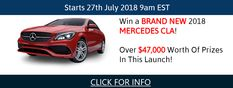 Over $47,000 worth of prizes to be had and a BRAND NEW MERCEDES BENZ! Prize Draw, New Mercedes, Brand New