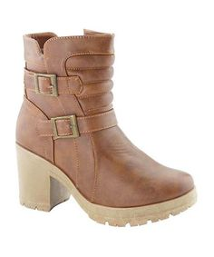 Look what I found on #zulily! Tan Troy Bootie by Bella Marie #zulilyfinds