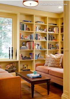 pale yellow creates a cozy atmosphere