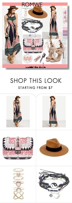 """Romwe"" by mila96h ❤ liked on Polyvore featuring Valentino, rag & bone, Accessorize and romwe"