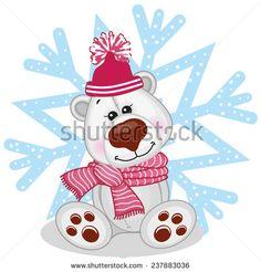 Картинки по запросу snowflake bear vector