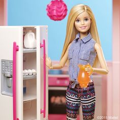 Need some inspiration when you're in the kitchen? We know the perfect place to start…  #Barbie