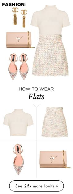 """Untitled #919"" by crissycortez on Polyvore featuring Staud, Bambah, Rochas and Giuseppe Zanotti"