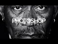 Tutorial | Photoshop | Dramatic Black & White Photo Effect - YouTube