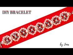 Easy beaded bracelet tutorial - YouTube