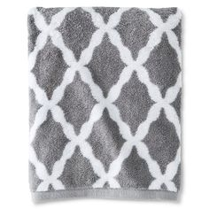 Threshold Brights Bath Towel Cloak Gray Accent