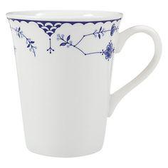 blue denmark mug