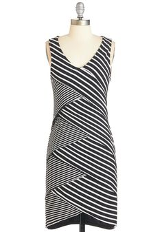 Look Who's Tiered Dress. It only makes sense to wear this striped dress for a night of dancing - it moves just as much as you do! #multi #modcloth