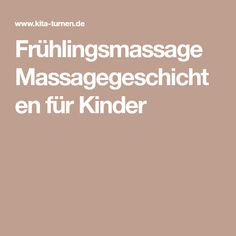 Spring massage Massage stories for children - Easter Day Kindergarten Portfolio, Easter Activities, Yoga For Kids, Anti Stress, Stories For Kids, Preschool, Wellness, Messages, Education