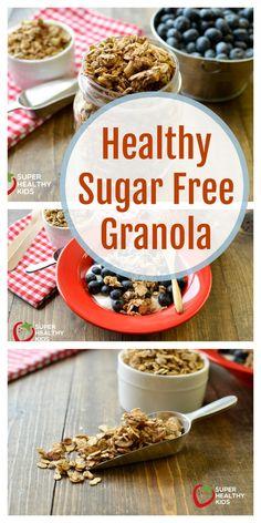 Healthy Sugar Free Granola