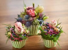 Over the past few years cupcake bakeries have opened all over the world. There are cookbooks, blogs, magazines, etc and now you can even do floral design.