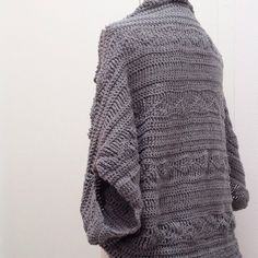 Free crochet pattern shrug 2