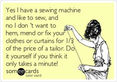 11 Responses When Someone Asks You to Sew Something - Melly Sews