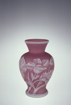 Vase by Frederick Carder and J.&J. Northwood in Stourbridge, England between 1900-1929.