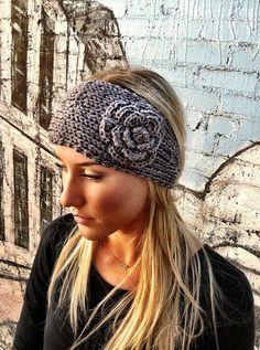 Knitted headband/ear warmer