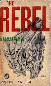 The Rebel by Albert Camus (1960)   Cover by Leo Lionni