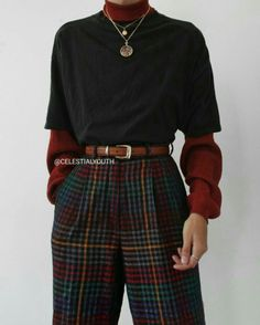 Mode Outfits, Retro Outfits, Cute Casual Outfits, Vintage Outfits, Fashion Outfits, Fashion Hacks, 80s Fashion, Queer Fashion, Fashion Fall