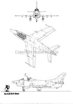 Italian Air Force, Plan Drawing, Cutaway, Fiat, Original Art, Aircraft, How To Plan, The Originals, Drawings