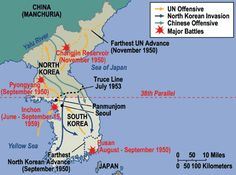 Korean War Map