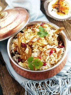 Chicken Biryani / the amount here will make Biryani for an army :p