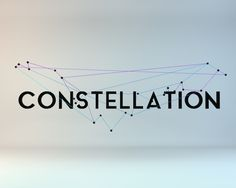 "Logo Design for ""Constellation"". This is a new bit of software for traders. It picks out patterns in the market using points like in constellations.  ~ View the full project on Behance. ~"