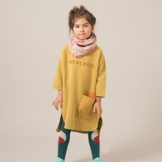bobo choses knitted scarf – shoaling fish - | Thumbeline